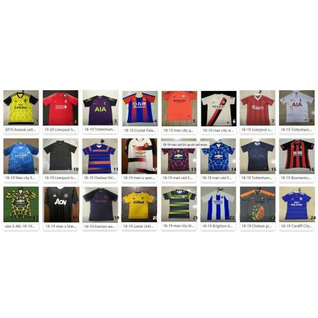 Camiseta Premier League 2018-19