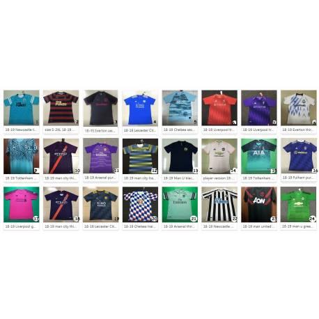 Camiseta Premier League 2018-19   CATALOGO 2